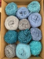 Adele's mohair giftbox -  Mountain Lakes